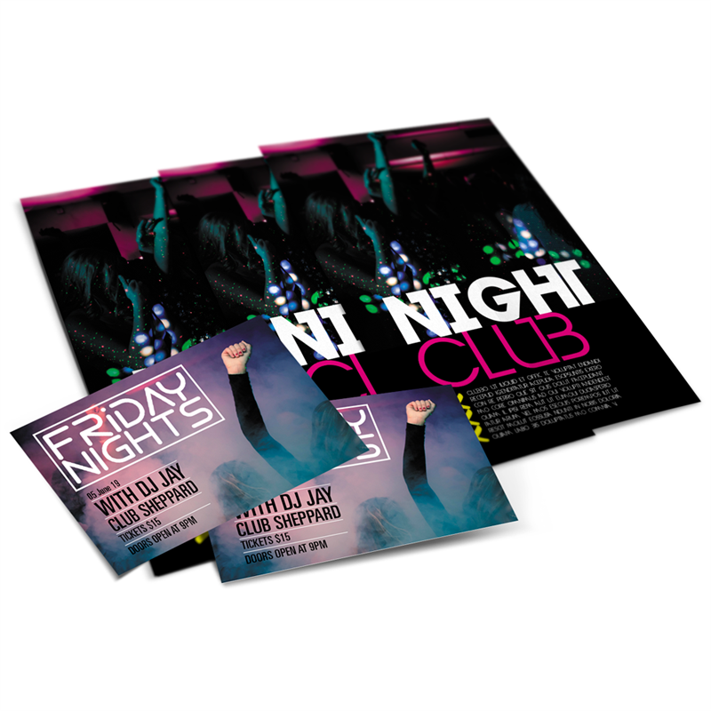 full color flyer printing zippityprint com cleveland ohio