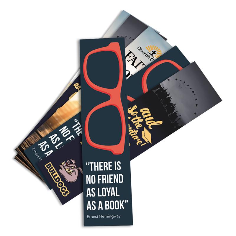 full color bookmarks printing zippityprint com cleveland ohio