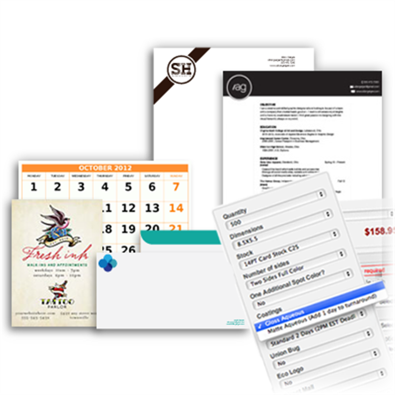 Custom Size Printing Cards Flyers