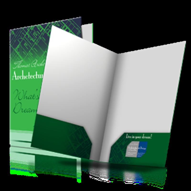 custom printed presentation folders We custom design & print folders of every kind, including presentation folders with fasteners film laminated pocket folders are our specialty custom printed folders.
